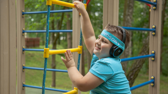 Soundsory improves gross motor skills in children