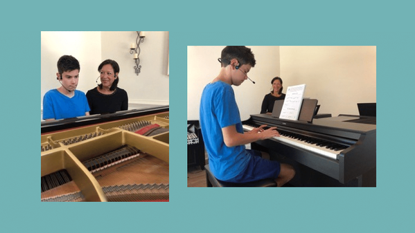 Vocal coach using Forbrain to help her students help in their singing lessons